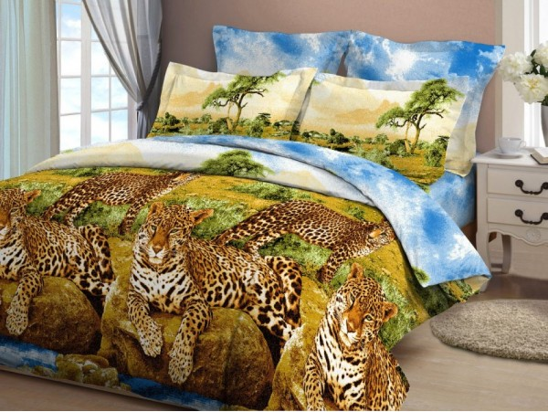 4126 Леопарды у воды
