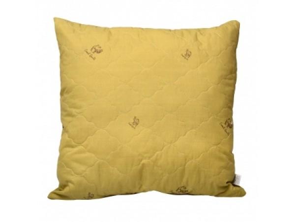 """721 Подушка Medium Soft """"Комфорт"""" Camel Wool (верблюжья шерсть, без молнии)"""