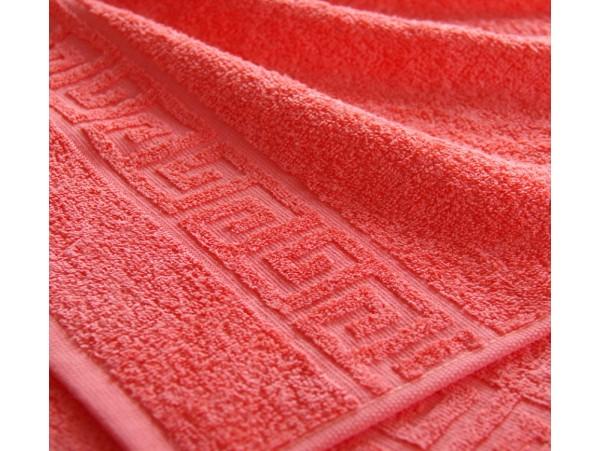 Полотенце махровое с бордюром Коралл