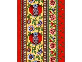 190391 Полотенце вафельное Гранатовый браслет