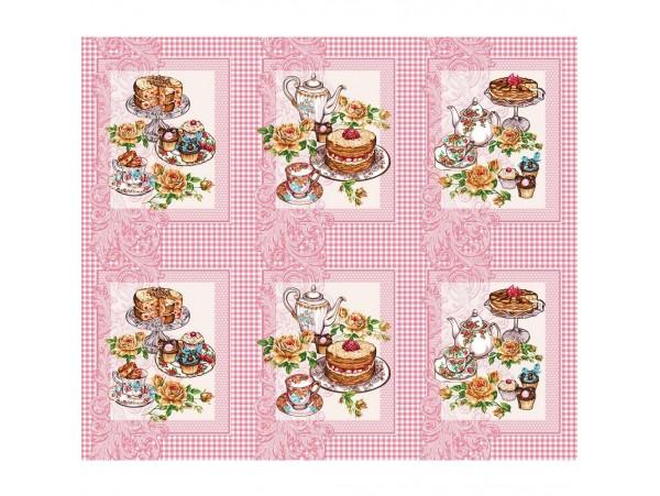 199991 Полотенце вафельное Десерт